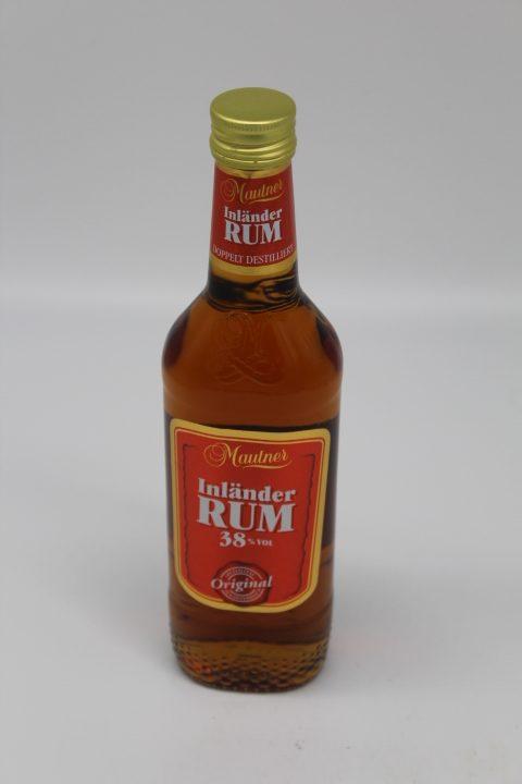 Inländer Rum 38% 0,35L 1