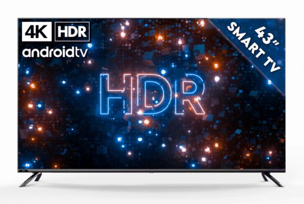 "KAGIS 43"" 4K UHD HDR Smart TV 1"