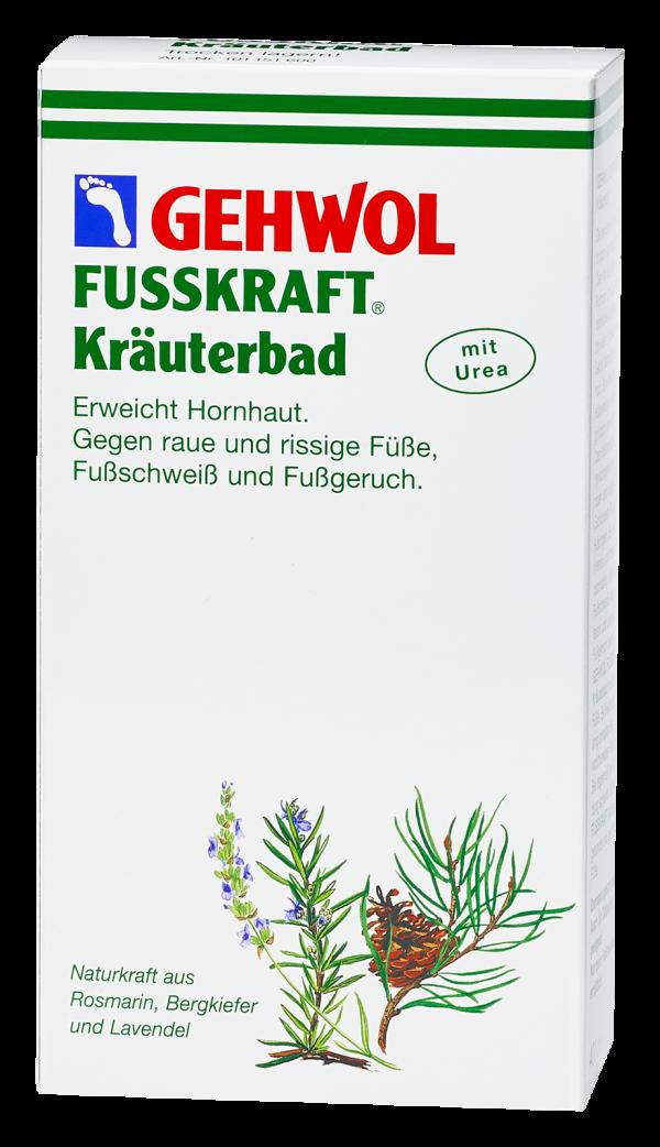 Gehwol Fusskraft Kräuterbad 1
