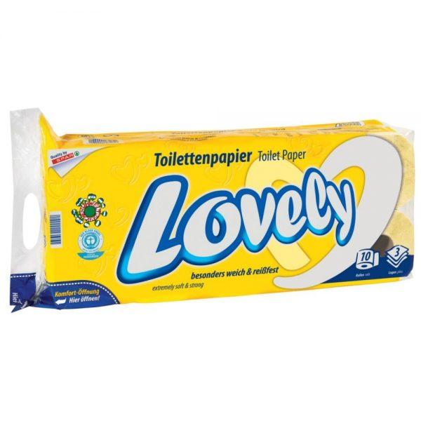 10er-Packung Lovely Toilettenpapier 1