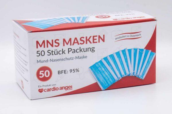 Mundschutz 50Stk. made in KÄRNTEN div. Farben 1