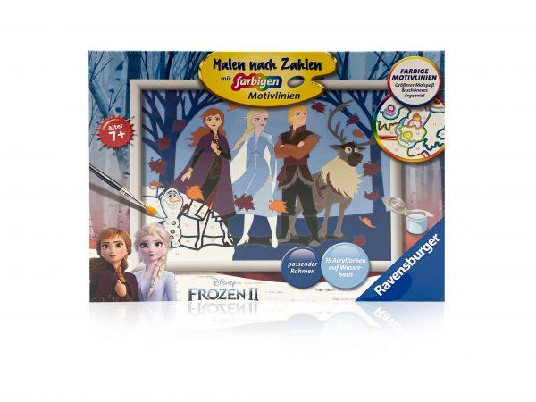 Malen nach Zahlen Frozen 2 1