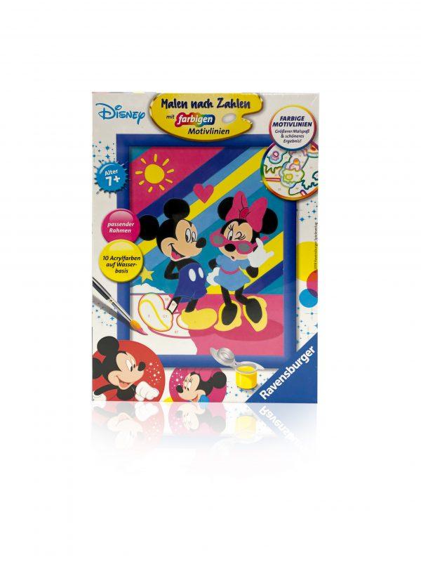 Malen nach Zahlen Micky Mouse 1