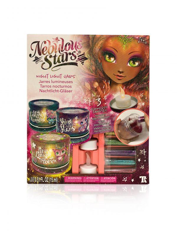 Nebulous Stars Night Light Jars 1