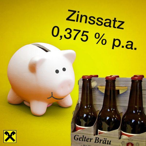 Online-Sparen mit 0,375% + 6-Tragerl 1