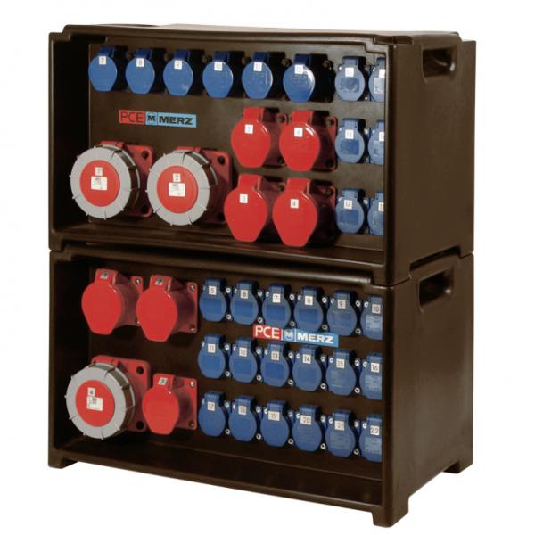 Stromverteiler und Kabel 1