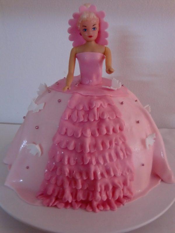 Prinzessinnentorte rosa 1