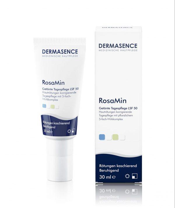 Dermasence RosaMin getönte Tagespflege 1