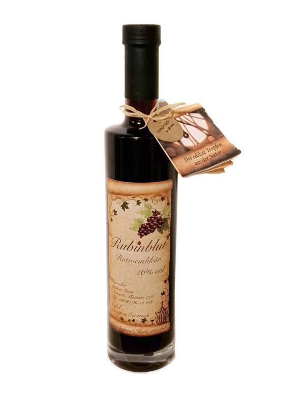 Rubinblut Rotweinlikör 1
