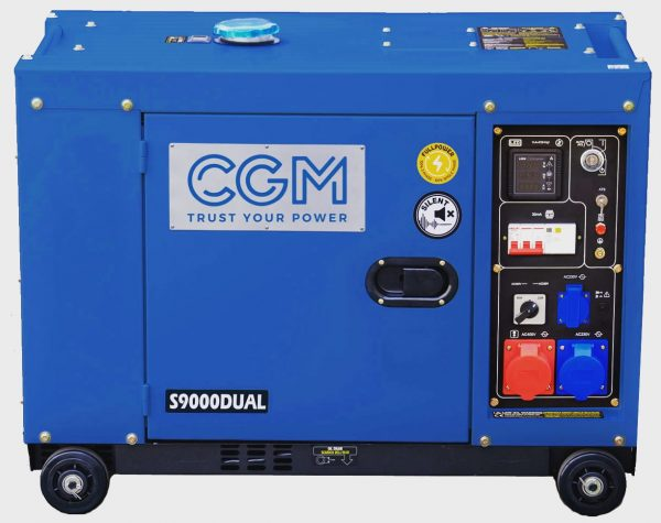 Diesel Stromerzeuger 9KVA 1
