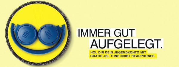 Gratis Jugendkonto + JBL Headphone + Unfallversicherung 2