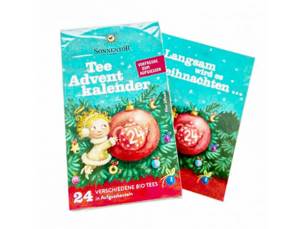 Sonnentor Tee-Adventskalender 1
