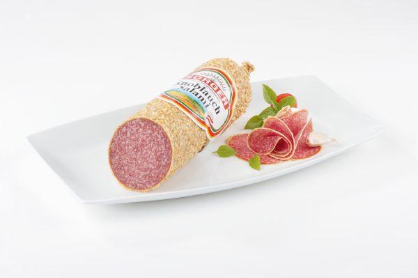 Sorger Knoblauchsalami per 100g 1