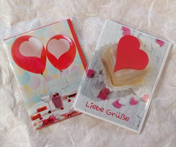 Karte Liebe Grüße 1