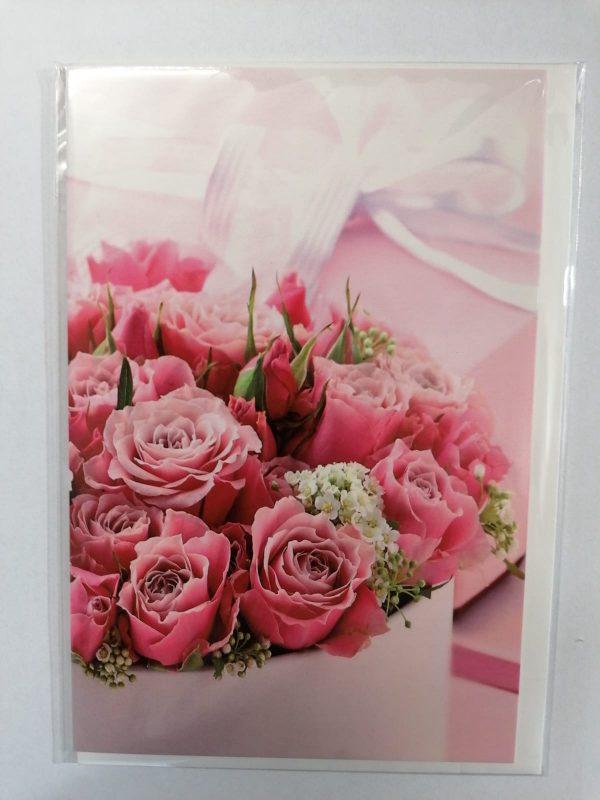 """Karte """"Rose"""" 1"""