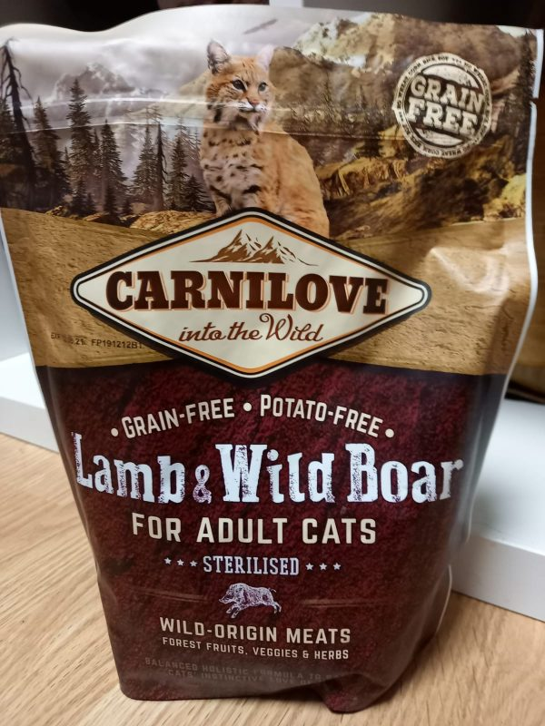 Carnilove Lamm & Wildschwein 1