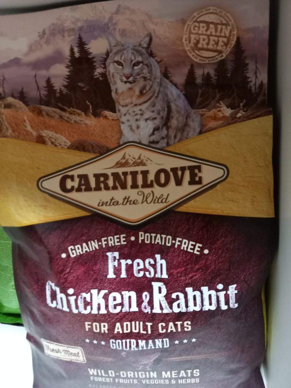 Carnilove Huhn & Kaninchen 2kg 1