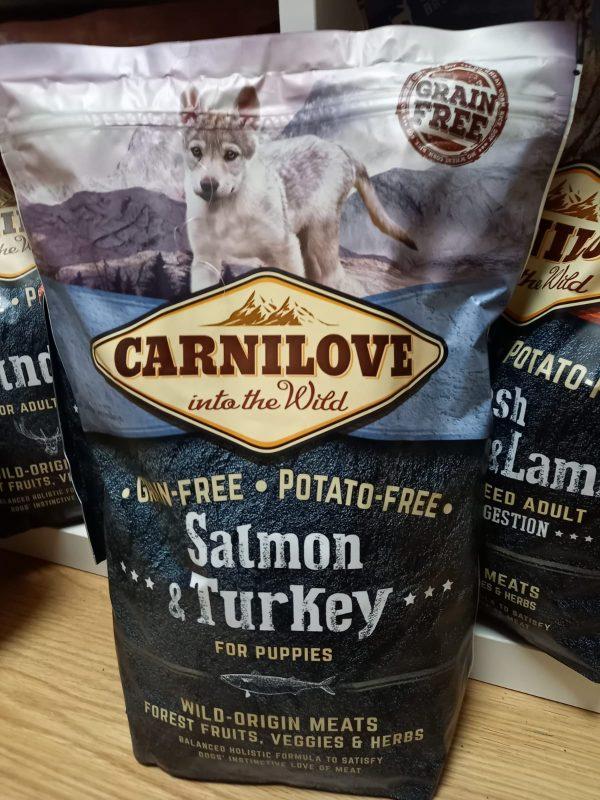 Carnilove Lachs & Truthahn Welpe 1,5kg 1