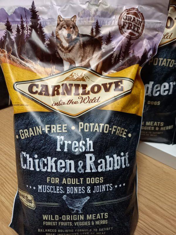 Carnilove Huhn & Kaninchen 1,5kg 1
