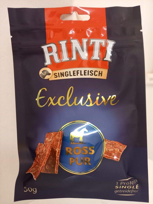 Rinti Exclusive Snack Ross (Pferd) 50g 1