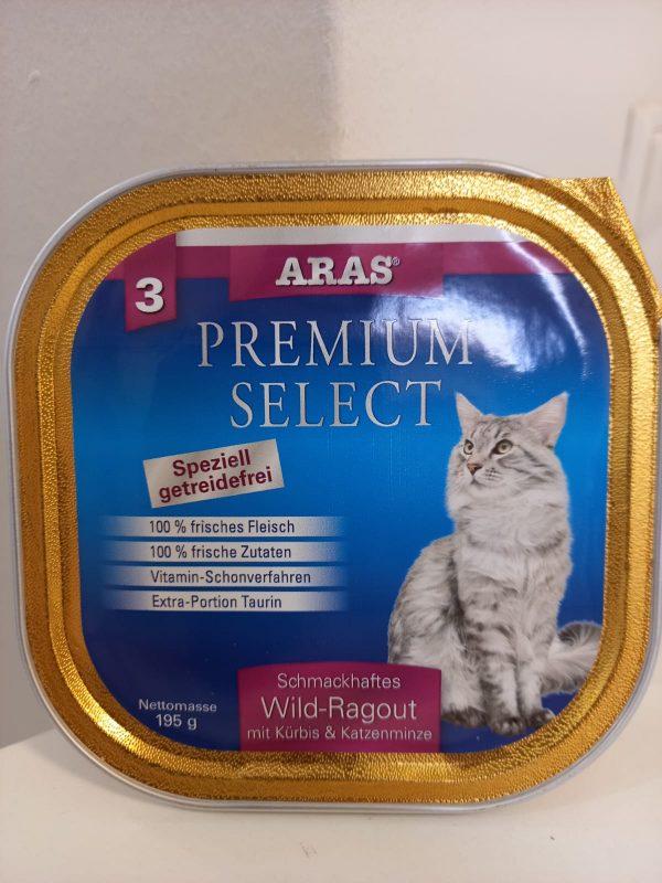 Aras Premium Select Wild-Ragout 195g 1