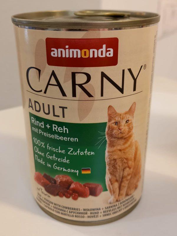 Carny Adult Rind & Reh & Preiselbeeren 400g 1