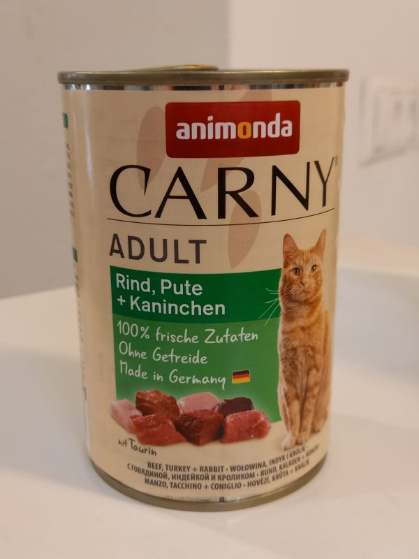 Carny Adult Rind & Pute & Kaninchen 400g 1