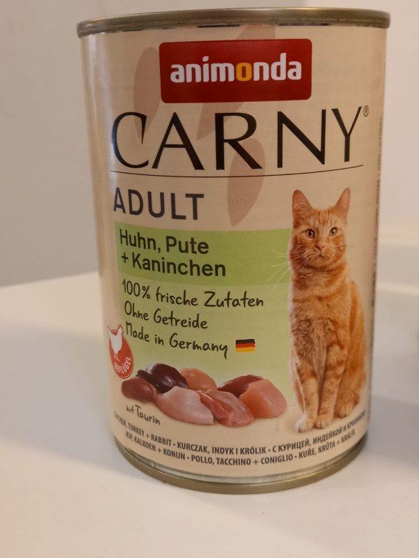 Carny Adult Huhn & Pute & Kaninchen 400g 1