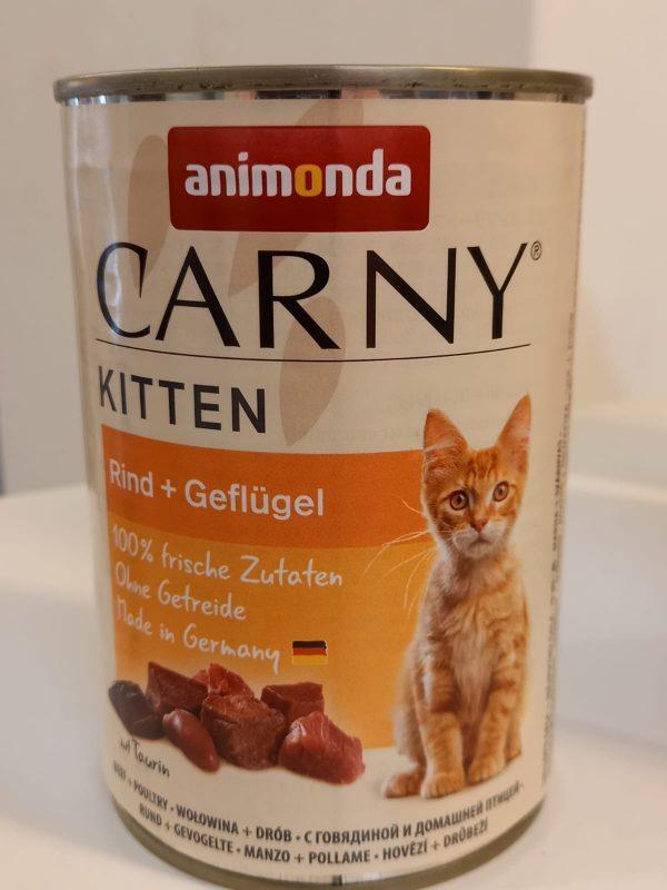 Carny Kitten Rind & Geflügel 400g 1