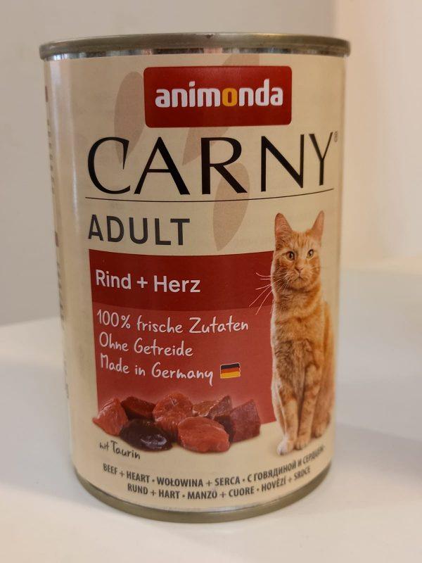 Carny Adult Rind & Herz 400g 1