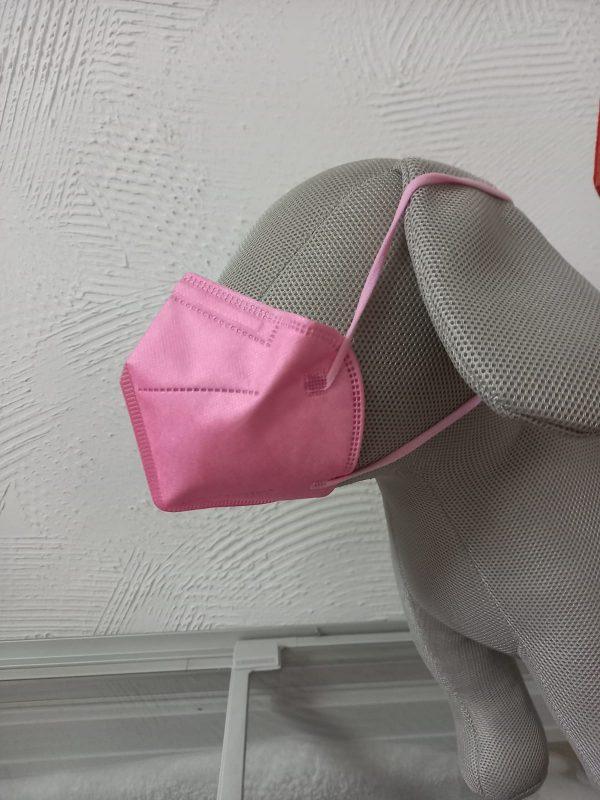 FFP2 Maske rosa 2