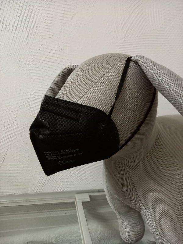 FFP2 Maske schwarz 1
