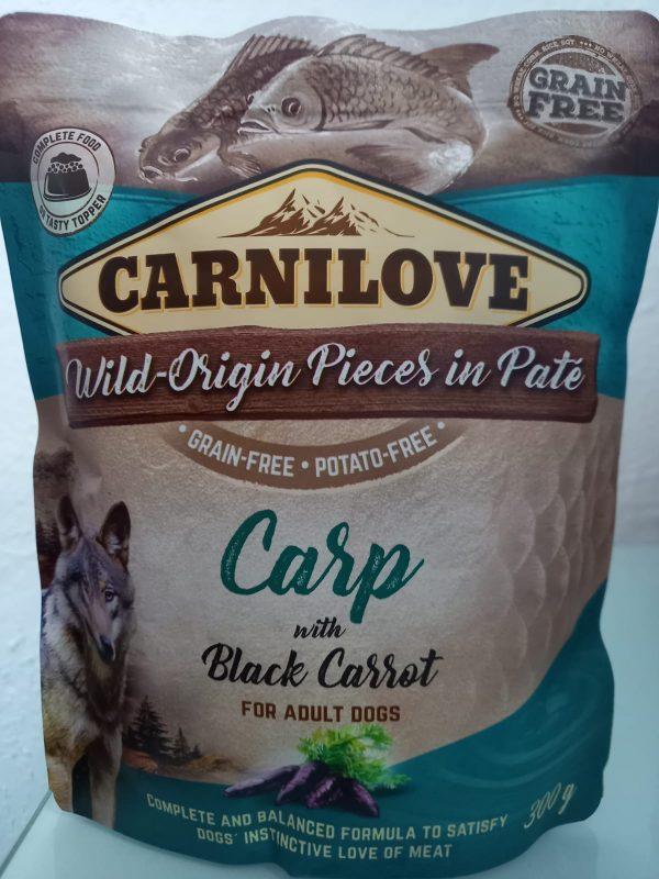 Carnilove Pate Karpfen mit schwarzer Karotte 300g 1