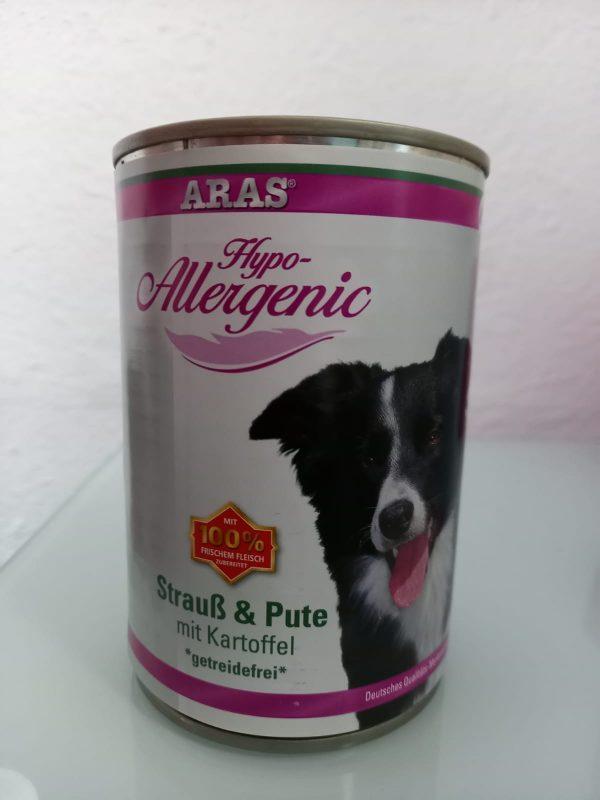 ARAS Hypo-Allergenic Strauß & Pute 1