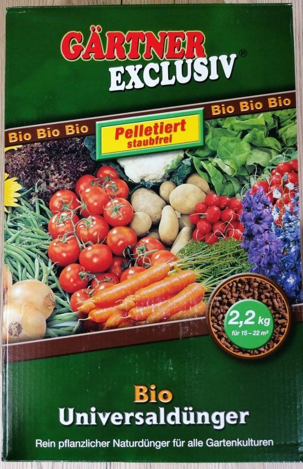 Gärtner Exclusiv BIO Universaldünger 1