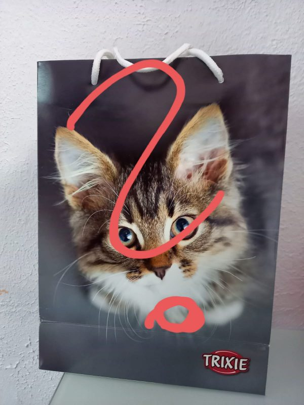 Überraschungssackerl Katze Wild 1