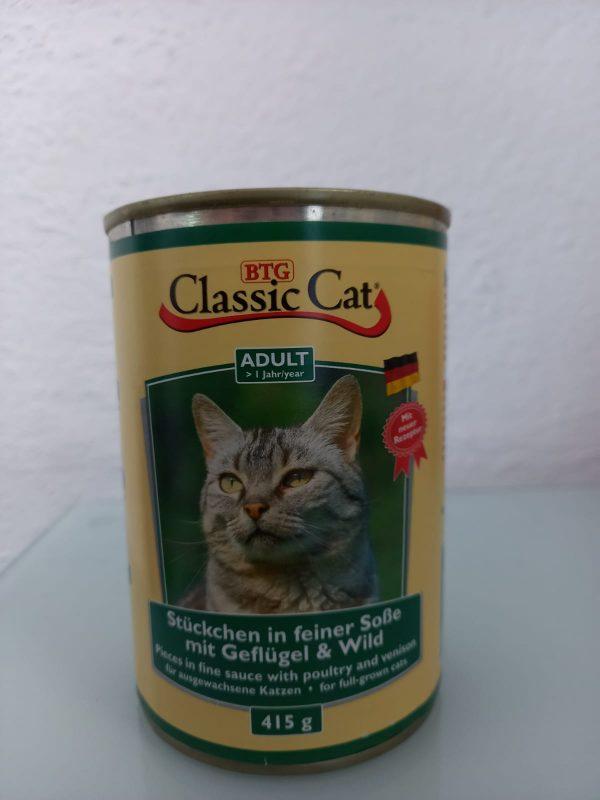Classic Cat Geflügel & Wild 415g 1