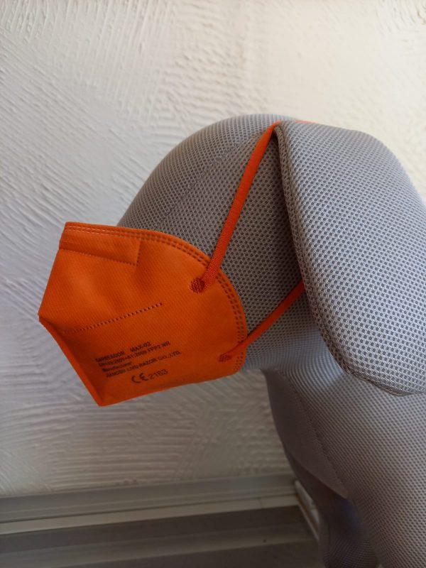 FFP2 Maske orange 1