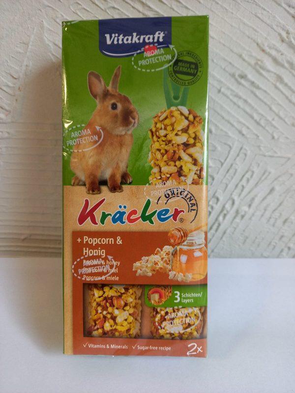 Vitakraft Kräcker Popcorn & Honig 2Stk. 1