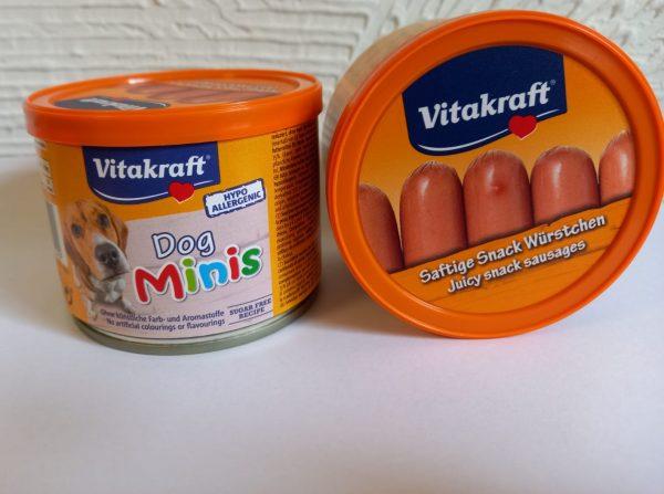 Dog Minis Würstchen 12Stk. 120g 1