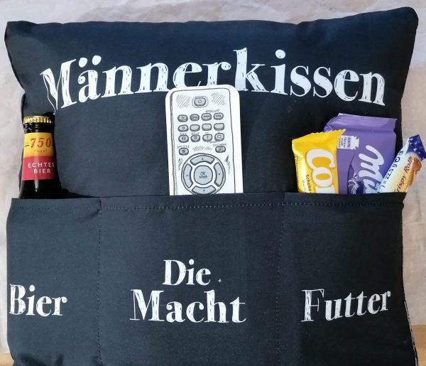 """Vatertagsgeschenk """"Männerkissen"""" 1"""