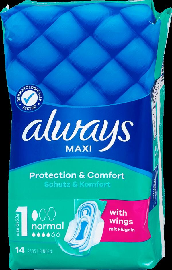Always Slipeinlagen Maxi 1