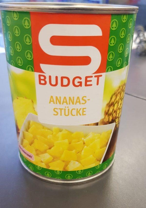 Sbudget Ananasstücke 1