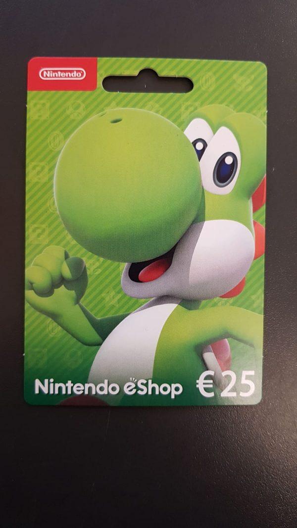Nintendo Gutschein 1