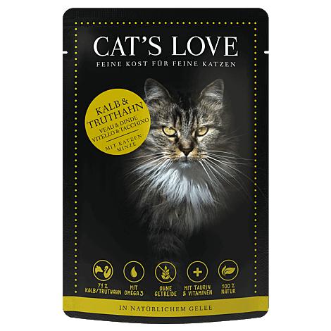 Cats Love Kalb & Truthahn 85g 1