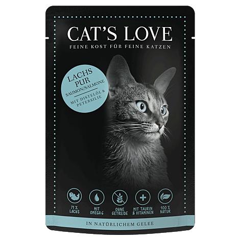 Cats Love Lachs Pur 85g 1