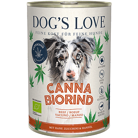 DOGS LOVE CANNA BIO RIND 1