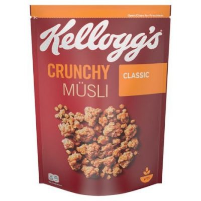 Kelloggs Crunchy Müsli Classic