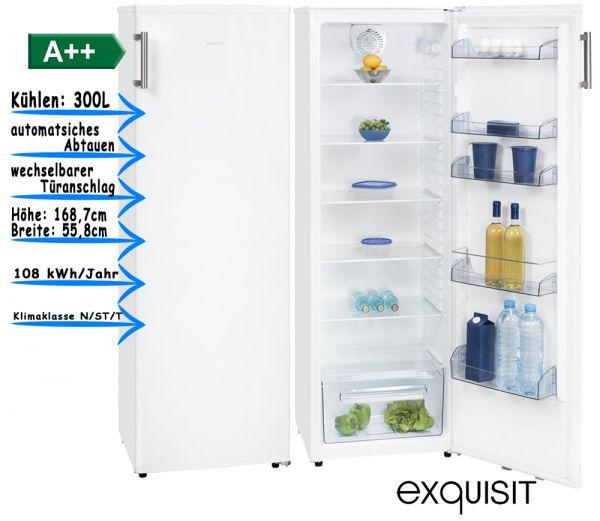Exquisit Kühlschrank KS301-1RVA++ 1