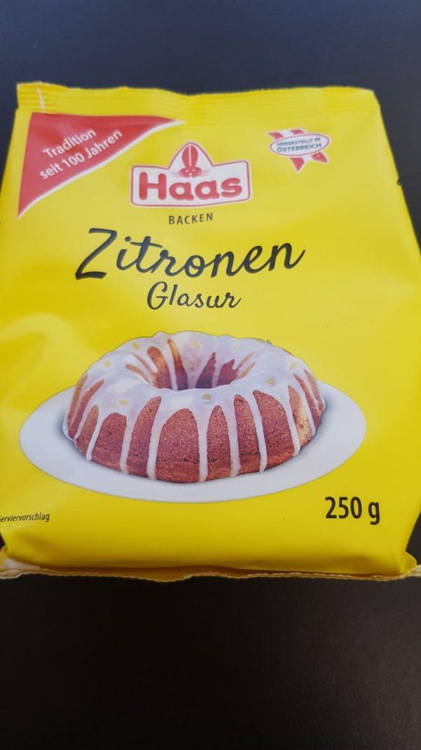 Haas Zitronenglasur 1